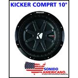 Kicker Comprt10 Subwoofer 600 Watt Rms 1200 Watt Max Power