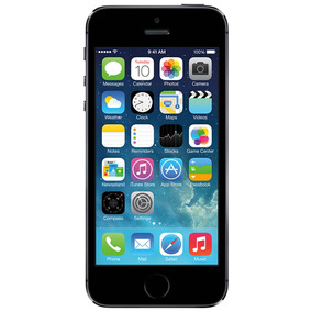 Iphone 5s 16gb Cinza Espacial Seminovo S/ Touch Id