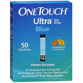 Onetouch Ultra Test Strips Blue 50 Cada Uno (paquete D...