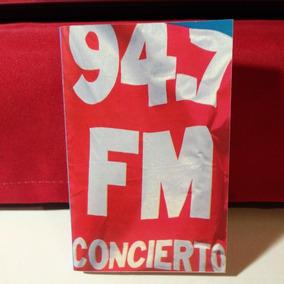 94.7 Fm Concierto Cassette 1ra Ed. Argentina Muy Bueno, Lea