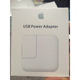 Cargador Apple 12w Ipad Original