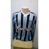 Camisa Gremio Puma Manga Longa - Futebol no Mercado Livre Brasil 1714d9c14d53a