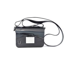 Bolsa Zaxy 17622 Power Bag Verniz Preto Islen Calçados