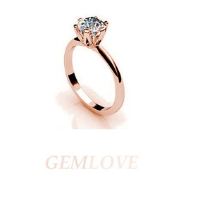 d6c6e5fc5385 Anillo Pétalos De Flor Oro Rosa 10k Diamante Swarovski