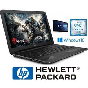 Notebook Hp 17.3 17x173dx I7 7500u 2.7ghz 8gb Ddr4 1tb Dvd