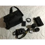 Camara Profesional Digital Nikon D90 Lentes 28-80 Y 70-300