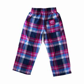 Pantalon Elepants Kids Niños Escosés Azul