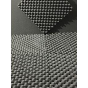 Kit 60 Placas 20mm Espuma Acustica Anti Chamas