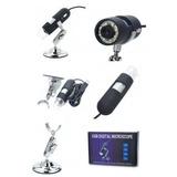 Microscopio Usb Zoom Optico Y Digital Hasta 800x Led Y 2mp