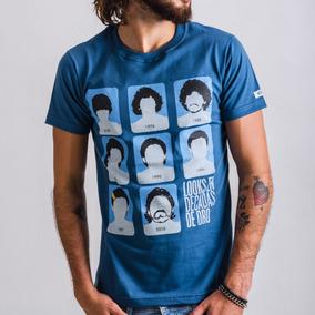 Remera Wing - Maradona Looks - Azul Índigo