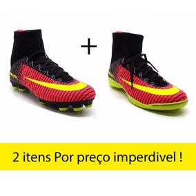 b74ab18d03 Chuteira Botinha De Quadra Adidas - Chuteiras Nike de Campo para ...