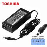 Cargador Notebook Compatible Toshiba 65w 19v 3.42a 5.5*2.5