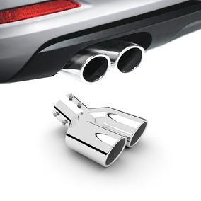 Boca Escapamento Duplo Em Aluminio Para Fiat Punto Acessorios Carros ... 35ae4bccf192