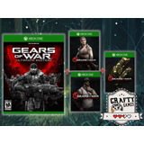 Xbox One Gears Of War Ultimate + Personajes + Skins Codigo