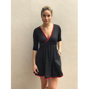 Vestidos Modal Viscosa Bolsillo Invierno Informal Y Original