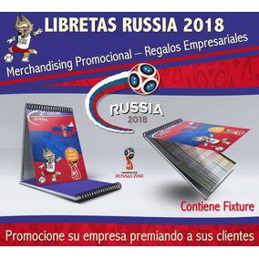 Libretaspersonalizadas Fixture Russia 2018 Mundial