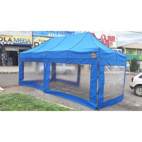 Tenda 6x3 Com 3 Lados De Laterais (ferro)