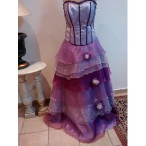 Le Tissu Vestido De 15 Años Usado En Desfile ..0054