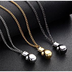 Collar De Metal Con Guante De Box