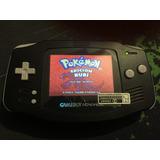 Gameboy Advance Retroiluminado Backlight Negro Envio Gratis