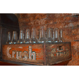 Cajón De Madera Antiguo Crush + 24 Botellitas