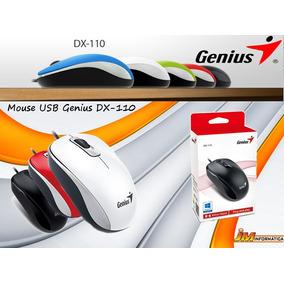 Mouse Genius Dx 110 Usb Optico Varios Colores