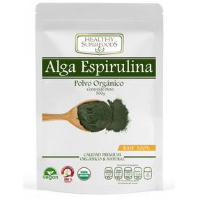Alga Espirulina Orgánica 500g