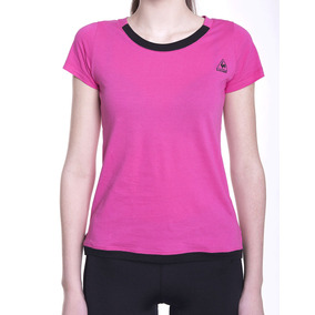 Remera Le Coq Sportif Sport Tee W Mujeres
