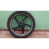 Roda Traseira Moto Dafra Speed 150 Com Pneu