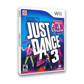 Nintendo Wii Jogo Original Juste Dance 3 Novo Lacrado