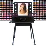 Camarin Maquillaje Ruby Profesional C / Luz Y Espejo