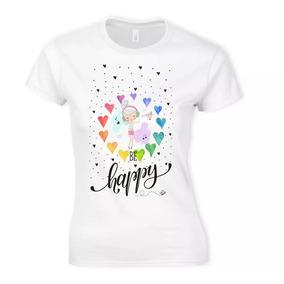 Playera Impresa Be Happy Music Te14 Env Gratis Blusa Mayoreo f93f9f2c60048