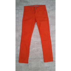 Pantalon Skinny Jeans Naranja Keneth Cole