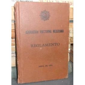 Adoracion Nocturna Mexicana Reglamento 1955