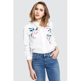 Camisa Levi´s® Mujer No Pocket Embroidery White
