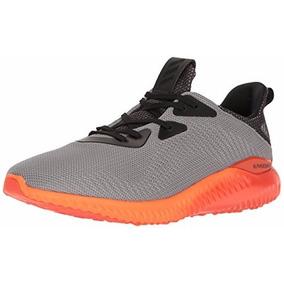 Tenis adidas Performance Alphabounce Plata-naranja 12.5 Us