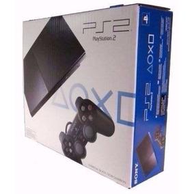 Playstation 2 Novo Desbloqueado 10 Jogos De Brinde