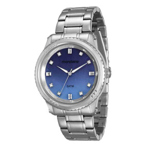8325220f58efd Relógio Feminino Mondaine Pulseira De Aço - 78719l0mvna4 por Ricardo Eletro