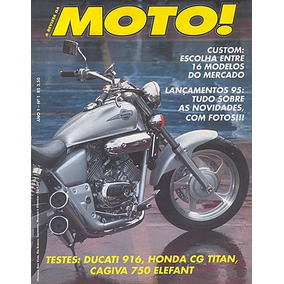 Revistas de automveis e motos em rio de janeiro con mercado envios moto001 jan95 honda cg125 titan ducat916 cagiva elefant750 fandeluxe Image collections
