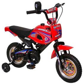 Triciclo Moto Cross 1200 R-12 1 Vel Bimex Bicicleta Infantil