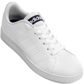 24f64eaa29 Sku  7240143703 Tênis Casual Adidas Advantage Cleans Vs Branco ...