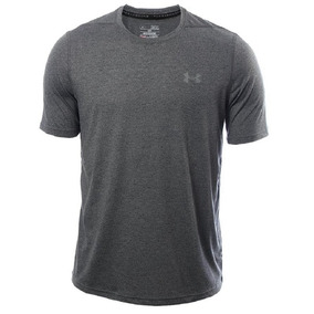 Remera Under Armour Threadborne Twist Hombre Gri-sporting