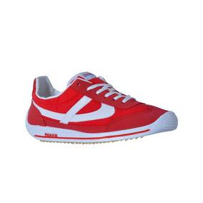Tenis Urbano Casual Rojo Dama-0623015440