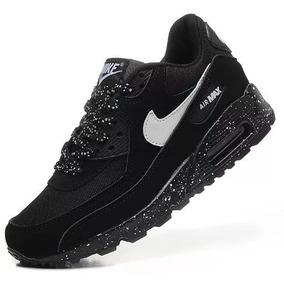 5e0c2d745fd Carregando zoom. Tênis Nike Air Max 90 Masculino Preto   Branco