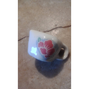 Jarrita Pequeña Usada De Ceramica Antigua
