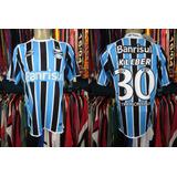 Grêmio 2011 Camisa Titular Tamanho G Número 30 Kléber.