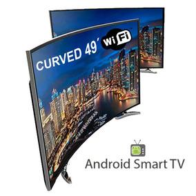 Led Tv Smart Curvo 49 Fullhd Wifi + Envío Gratis