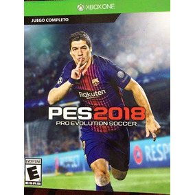 Juego Digital De Xbox One Pes 2018 Original Descargable