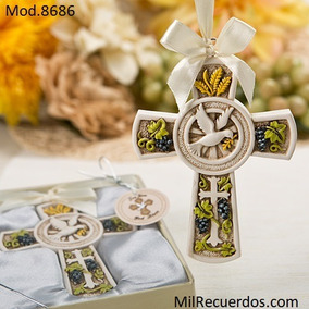 Recuerdos Cruz Mod 8686 10 Piezas