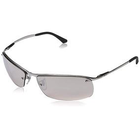 a02e8e07927 Gafas De Sol Ray-ban Rb3183 - Lente Gris Marco Plateado
